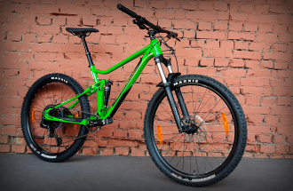 "Велосипед 27.5"" Merida One-Twenty 7.400 Glossy Green 2020"