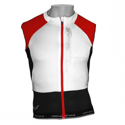 Веломайка - Northwave Evolution Jersey white/black/red sleeves