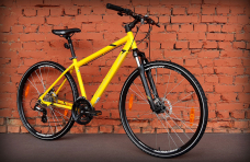"Велосипед 28"" Merida Crossway 15-MD Silk Yellow 2020"