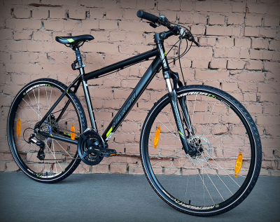 "Велосипед 28"" Merida Crossway 15-MD Metallic Black"