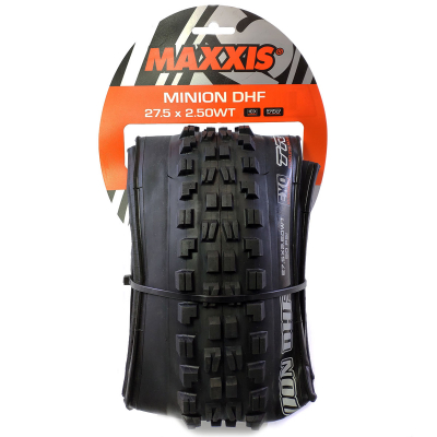 "Покрышка 27.5 - Maxxis Minion DHF 2.5"" WT EXO/TR Folding"