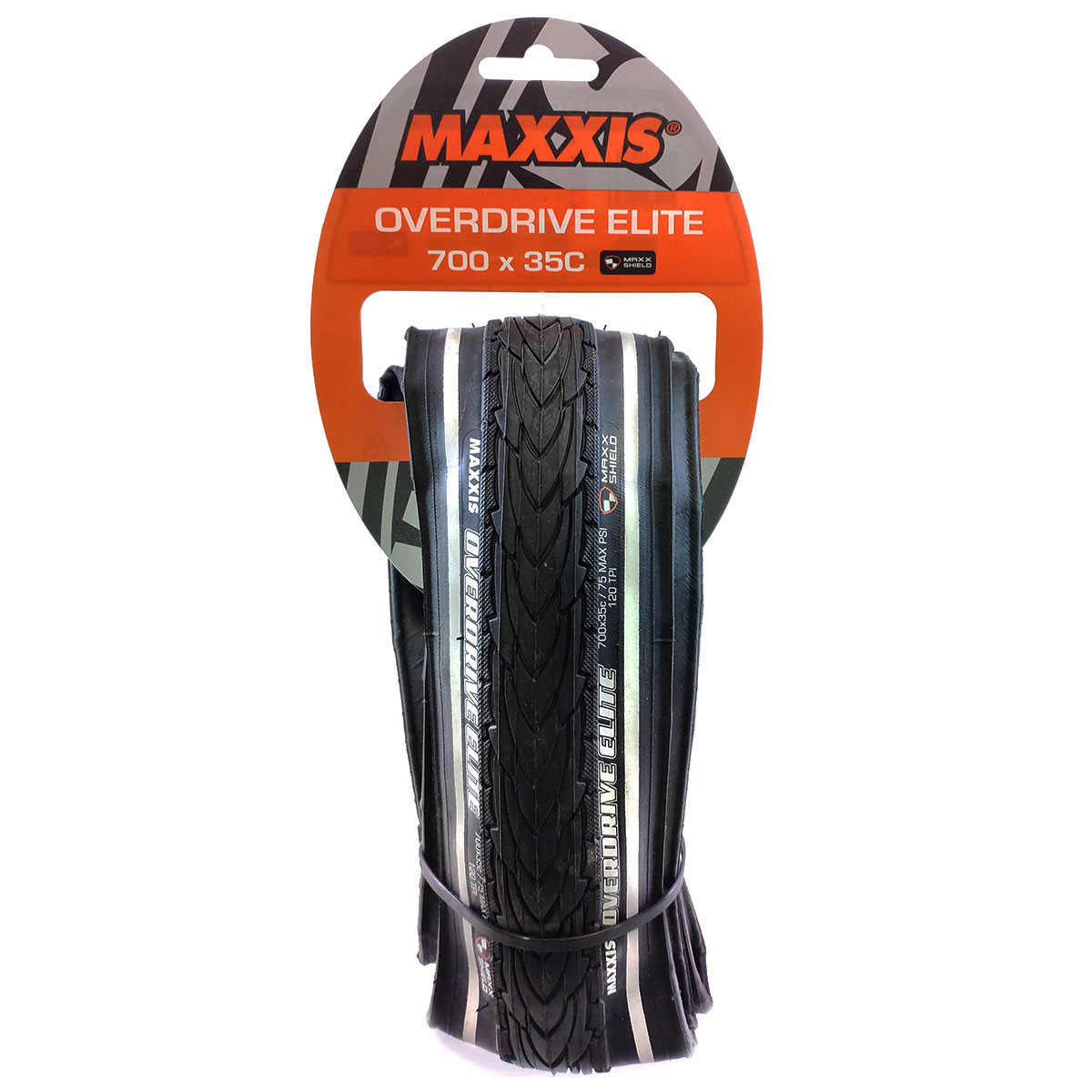 Покрышка 28 - Maxxis Overdrive Elite 35C Folding