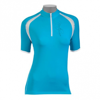 Веломайка - Northwave Crystal Jersey Light Blue short sleeve