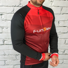 Джерси Funkier Spoleto-LW Thermal J-799 Red с флисом