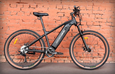 "Электровелосипед 27.5"" Kristall E300-Speed 350W Black (2021)"