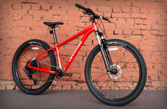 "Велосипед 27.5"" Cannondale Trail 5 RRD (2021) красный"