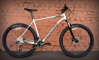 "Велосипед 27.5"" Cannondale Trail 6 SLV серебристый 2019"