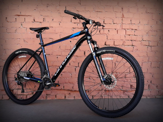 "Велосипед 27.5"" Cannondale Trail 7 BLK черный 2019"