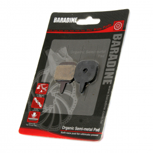 Тормозные колодки Disc - Baradine DS-08 для Tektro Hydraulic/Mechanical