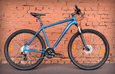 "Велосипед 27.5"" Merida Big.Seven 15 Blue (2021)"