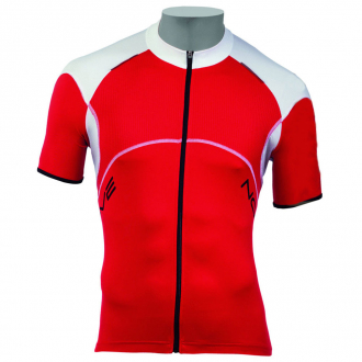 Веломайка - Northwave Blade Jersey2 red/white short sleeve