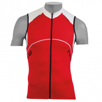 Веломайка - Northwave Blade Jersey red/white sleeveless