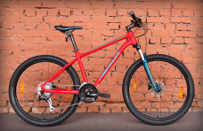 "Велосипед 27.5"" Merida Big.Seven 20 Matt Race Red (2021)"