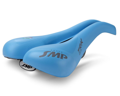 Седло для велосипеда - Selle SMP TRK Medium Light Blue