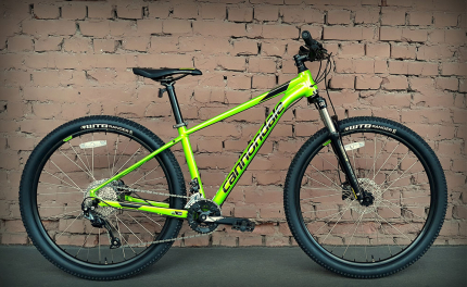 "Велосипед 27,5"" Cannondale Trail 7 AGR зеленый 2018"