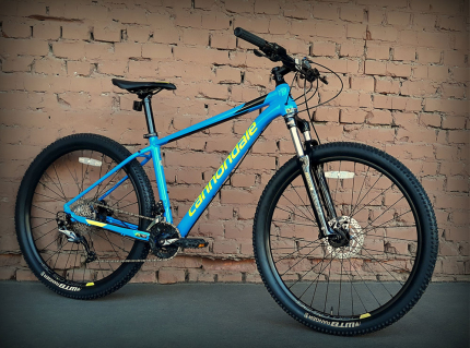 "Велосипед 29"" Cannondale Trail 6 SPB синий 2018"
