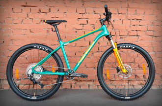 "Велосипед 27.5"" Merida Big.Seven 200 Teal Blue Orange (2021)"