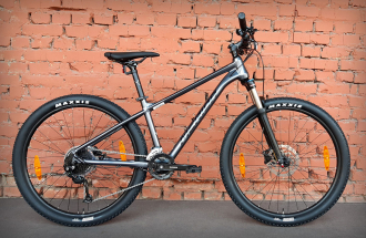 "Велосипед 27.5"" Merida Big.Seven 100-2x Anthracite Black (2021)"