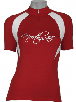 Веломайка - Northwave Devine Jersey Red short sleeve