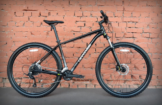 "Велосипед 29"" Cannondale Trail 7 BLK (2021) черный"