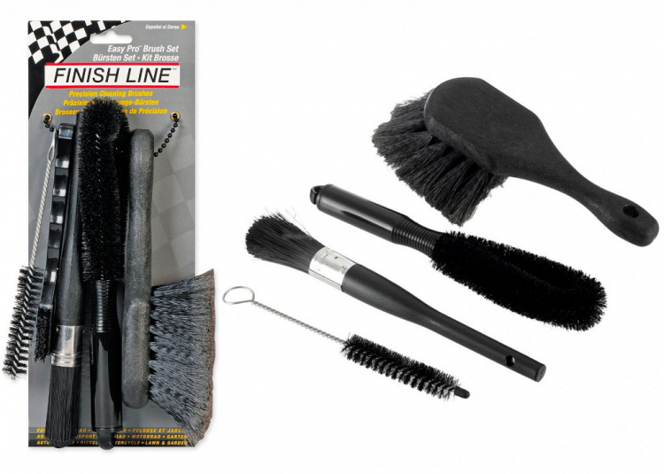 Набор щеток - Finish Line Easy Pro Brush Set