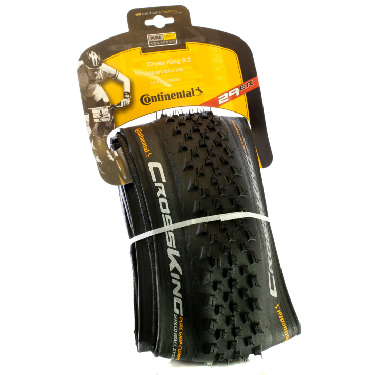 Покрышка 29 - Continental Cross King SW PureGrip Folding TR