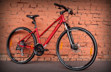 "Велосипед 28"" Merida Crossway Lady 20-D Matt Red 2020"