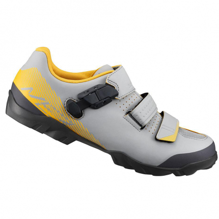 Велотуфли Shimano ME3 gray/yellow gris/jaune