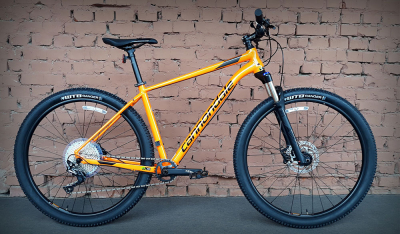 "Велосипед 27.5"" Cannondale Trail 3 TNG оранжевый 2019"