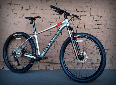 "Велосипед 27.5"" Cannondale Trail 4 SGG серый 2019"