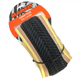 Покришка 20 - Maxxis Grifter Folding White Wall 2.3
